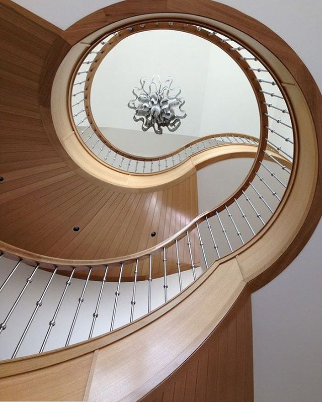 Stainless Steel Staircase  #stairs #staircase #design #style #home #house #interior #interiordesign #architecture #archilovers #architecturelovers #photo #photooftheday #photography #stainless #inspiration #chandelier #spiral #decor #art #artwork #insta #modern #contemporary #instagood #instadaily #instamood #instagram