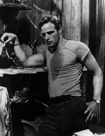 Marlon Brando en 'Un tranvía llamado deseo' (1951).