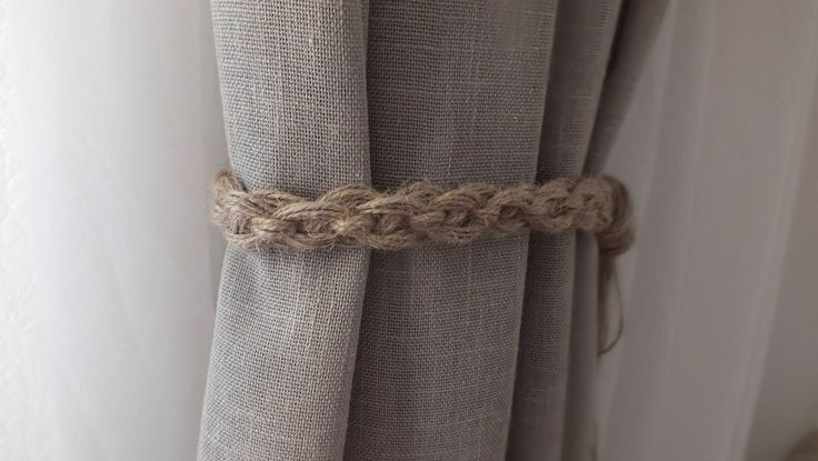 Curtain Tie Back 2 pcs Nursery Curtain Gypsy Décor Boho Accessories Rope Curtain Tie Back Curtain Hooks Curtain Holdback Curtain TieBacks by WOODlikeWOOD on Etsy https://www.etsy.com/listing/472897761/curtain-tie-back-2-pcs-nursery-curtain