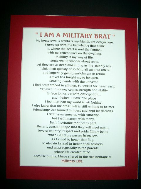 Army Brat Poem | silent ranks army spouse prayer army spouse only a rose military brat ...