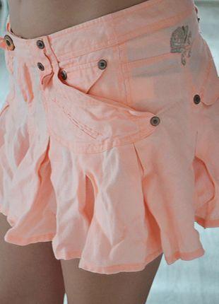 Kup mój przedmiot na #vintedpl http://www.vinted.pl/damska-odziez/spodnice/12446659-letnia-spodniczka-river-island-koralowa