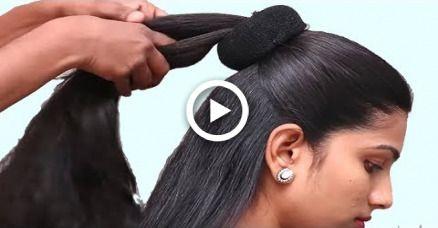 Alltägliche einfache Seite geflochtene Frisuren für Schulmädchen || Frisuren für Mädchen ||