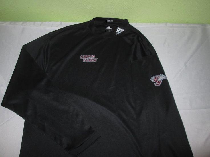 Team Issue Santa Clara Basketball Ncaa L S Warm Up T Shirt