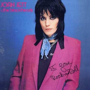 Joan Jett - my first album ever. Besides Mickey Mouse Disco and Seseme Street Fever.