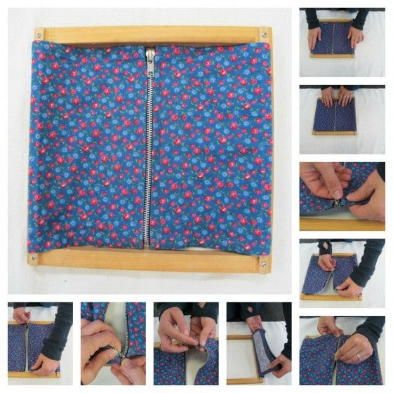 How do you teach a child to zip his coat? Move slowly. Teach him about the parts of the zipper. Be very patient! {Montessori Practical Life: Zipping Frame}