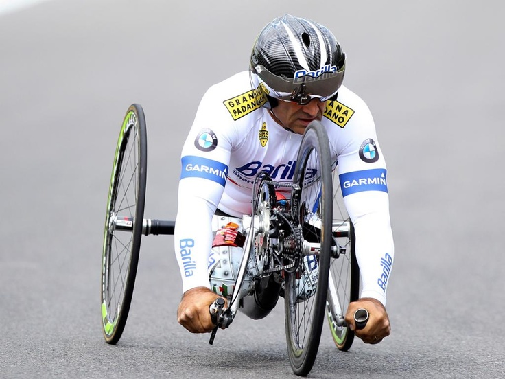 Alex Zanardi, ex-F1 pilot and WTCC driver for BMW, wins Paralympic gold in handcycle - BMW BLOG