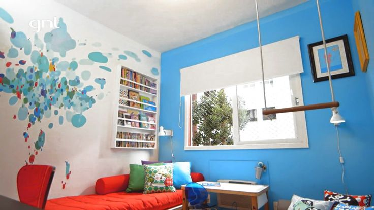 #painting ins #kid's #room to a brazilian tv show http://www.nicolaumello.com/wp-content/uploads/2015/05/graffiti-nicolau-canal-gnt-obaarquitetura-06.jpg