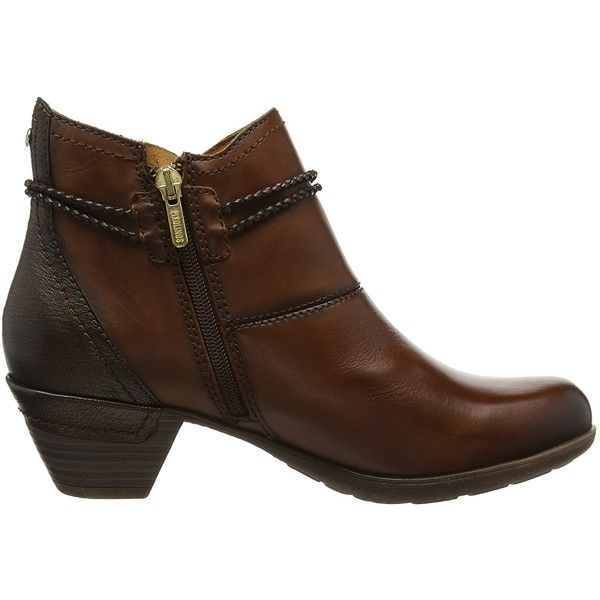 Pikolinos Womens Bootie Rotterdam 902-8775 Boot ($154) ❤ liked on Polyvore featuring shoes, boots, wide fit shoes, wide fit ankle boots, wide boots, shootie shoes and bootie boots