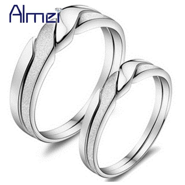 Good price Almei China Couple Rings for Men&Women Gifts Silver Color Jewelry Wedding Alliance Mariage Pair Ring Anillos Anel Jewellery J051 just only $5.71 with free shipping worldwide  #weddingengagementjewelry Plese click on picture to see our special price for you