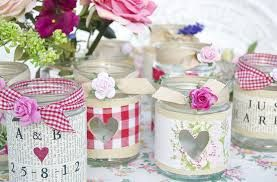jam jar wedding flowers - Google Search