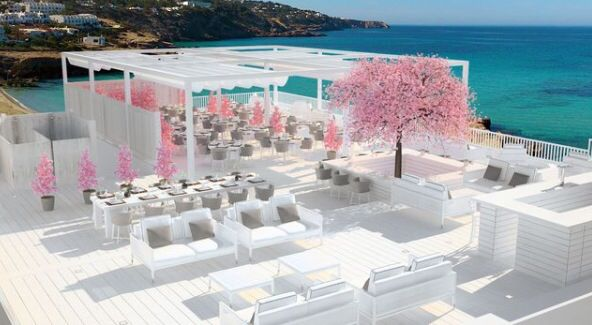 Cotton Beach Club / Sant Josep de sa Talaia #ibizarestaurants #cottonbeachclub