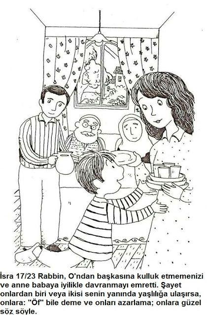 KURAN HAZİNEM: Anne Babasına Güzel Davranlara Ne Mutlu  !
