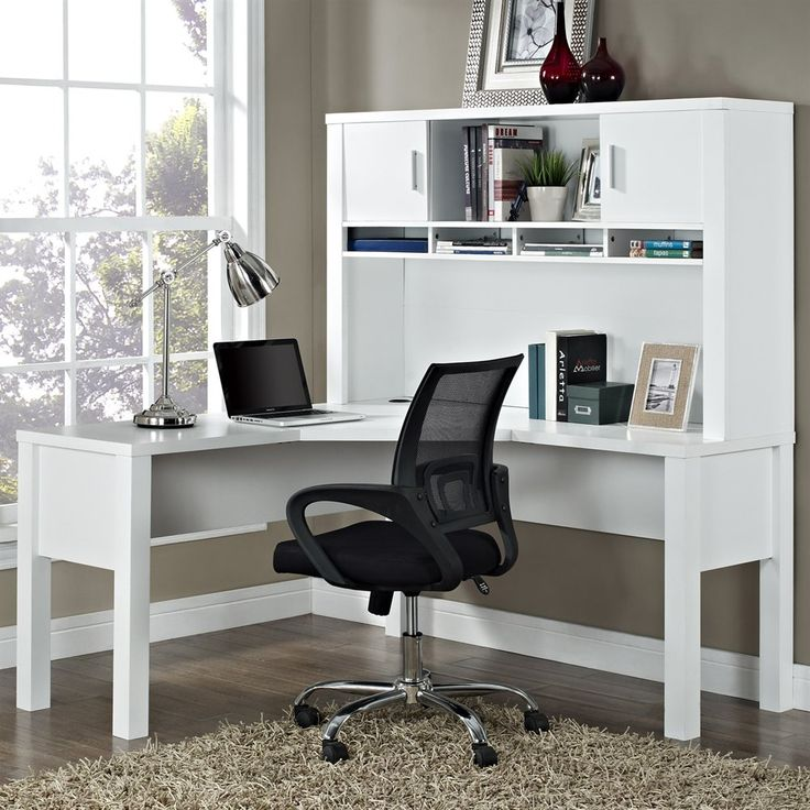 Shop Altra Furniture  Princeton L Desk with Hutch at ATG Stores. Browse our desks, all with free shipping and best price guaranteed.