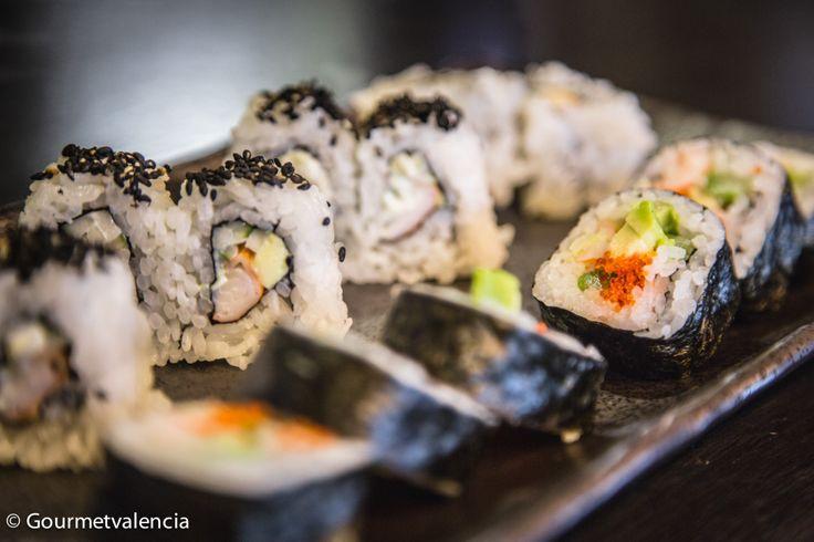 Makis de Sushi Home, en Valencia
