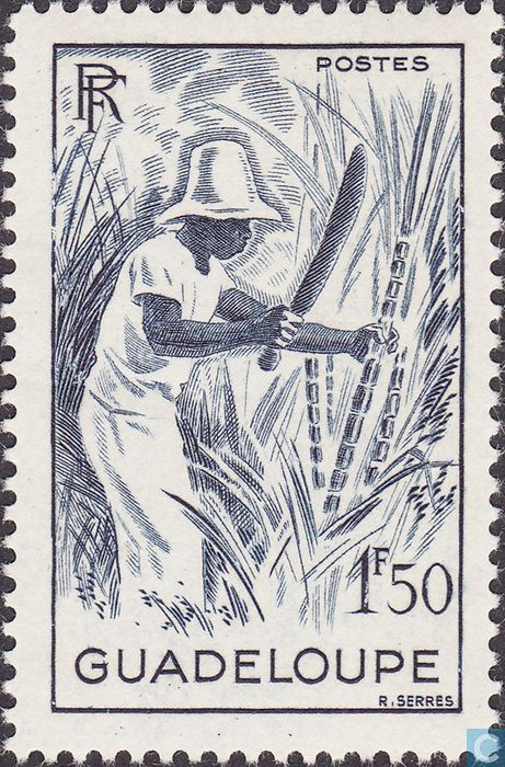 1947 Guadeloupe - Sugar extraction