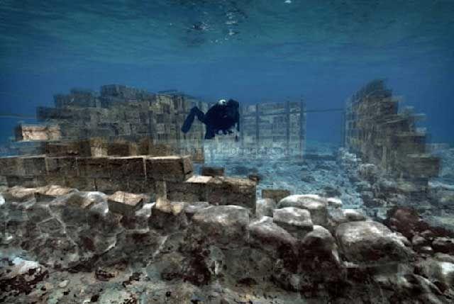 Misteri Kota Purba Yang Tenggelam Di Dasar Laut