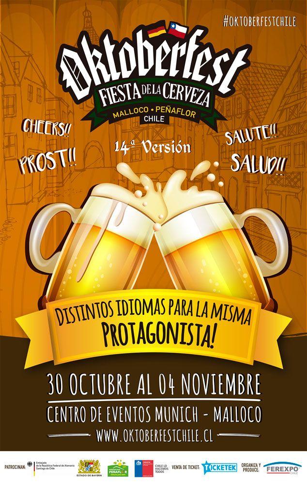 Oktoberfest Malloco Contará Con Chancho En Piedra Y Villa Cariño Oktoberfest Fiesta De Cerveza Chancho En Piedra