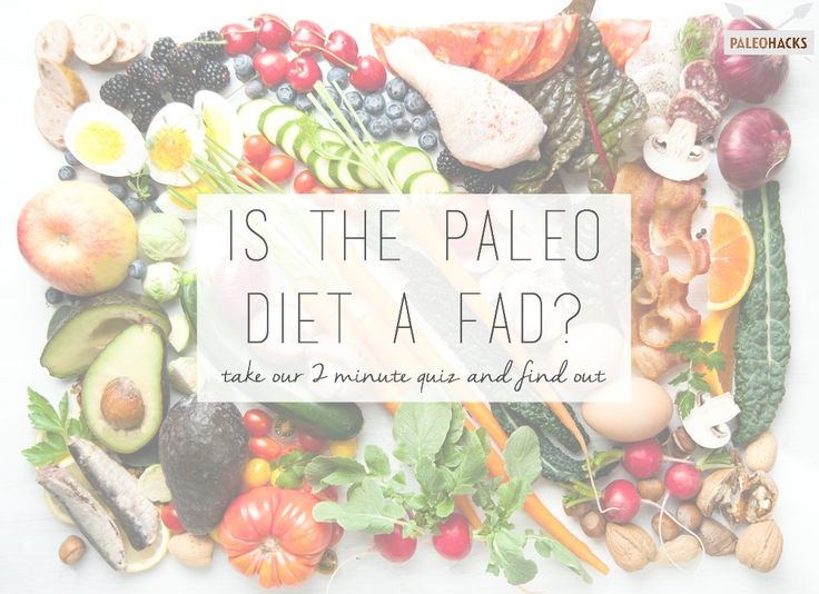 Have you tried Paleo yet? Take our quiz and find out if it's the right fit for you.  http://paleoquiz.com/p1