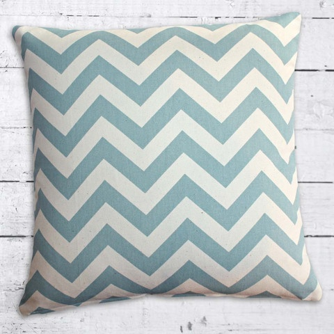 Cushions from Cushionopoly - ZigZag Blue/Natural