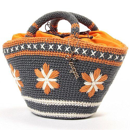 Amazing work! Laugoa crochet purse orange