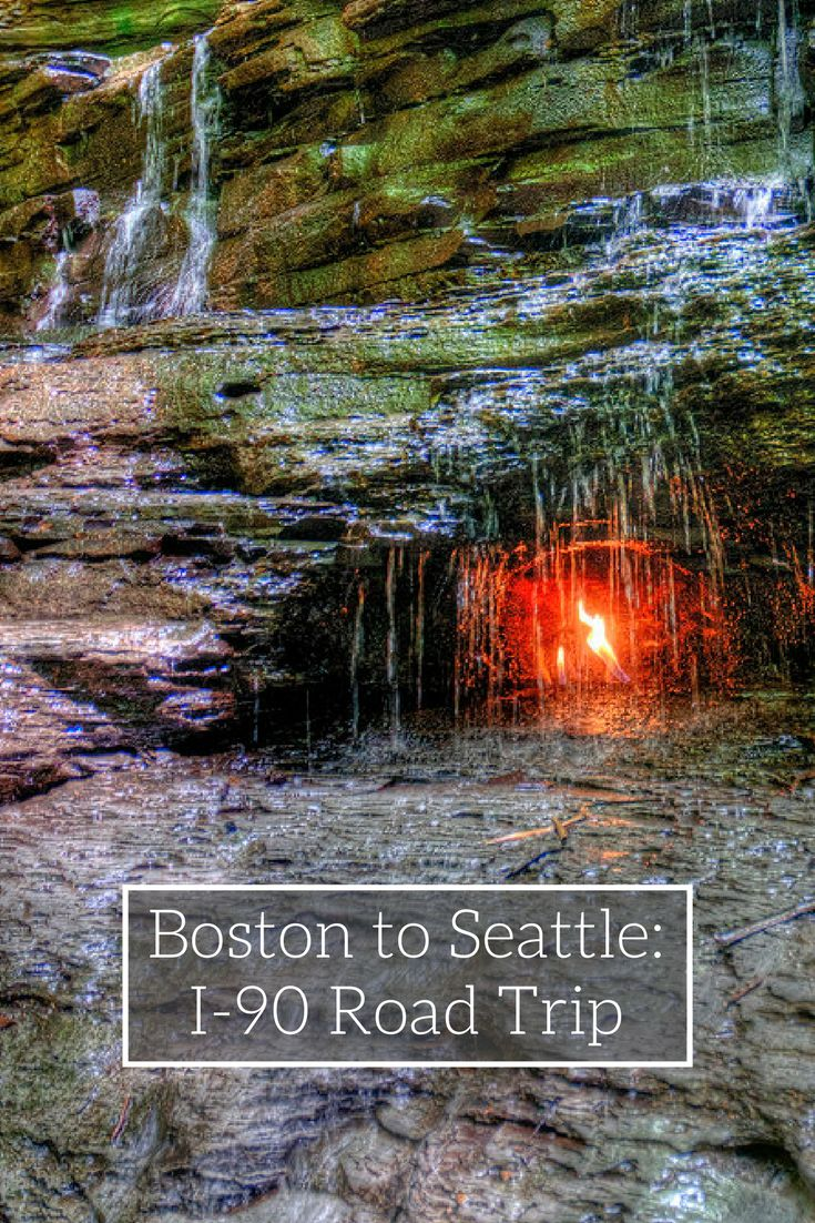 The ultimate road trip guide to I-90, from Boston to Seattle | Over 3,000 miles of asphalt and adventure along I-90.