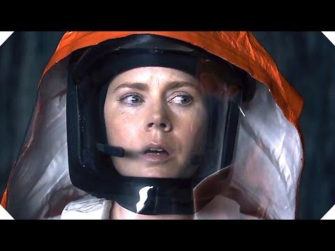 """Arrival. Based on Ted Chiang's """"Story Of Your Life,"""" which may be the best thing ever written."""