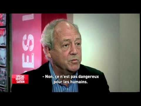 """Monsanto pesticides are safe enough to drink in a glass of water, says an honest-to-goodness scientist who immediately refuses an offer to drink a glass of Monsanto pesticides. Not because Monsanto pesticides aren't safe, no, but because he's """"not stupid"""" and the interviewer is """"a complete jerk."""""""