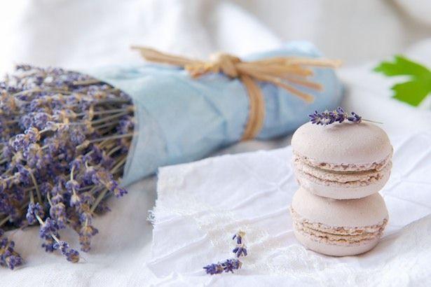 #Experiment #Schokolade #Makronen #Lavendel #Makronen
