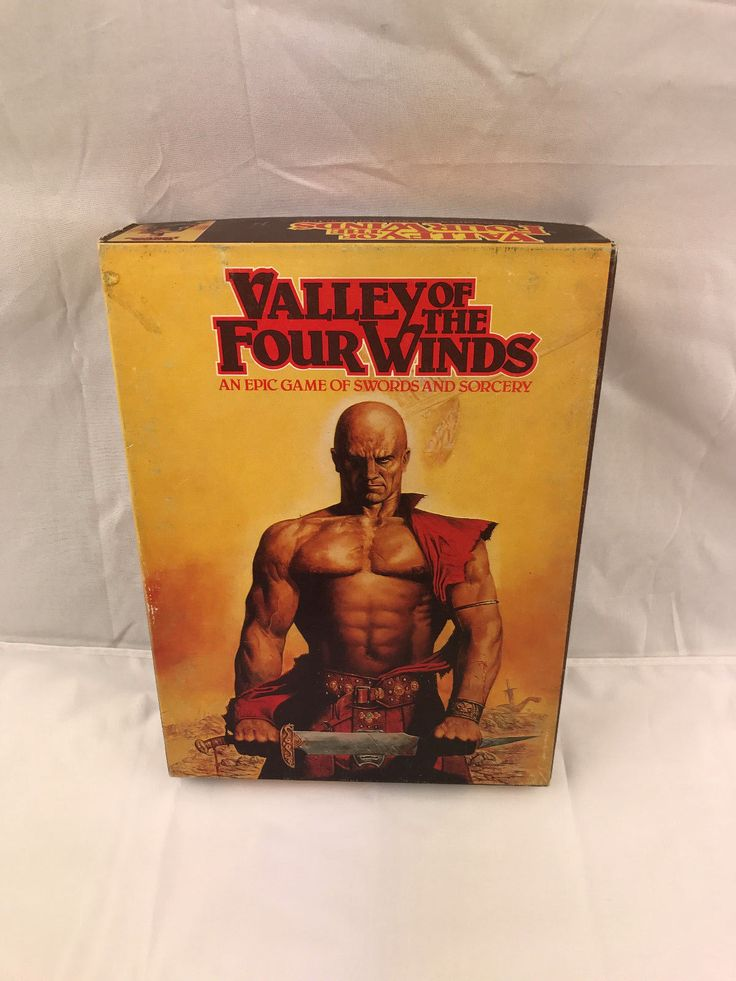 """Valley of the Four Winds"" vintage game by games workshop RARE 1980 in Toys & Games, Wargames & Role-Playing, Role-Playing 
