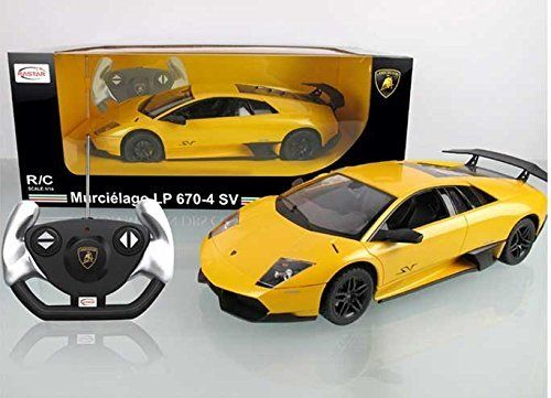 Special Offers - 1/14 Scale Lamborghini Murcielago LP670-4 SV Radio Remote Control Model Car R/C RTR (Yellow) - In stock & Free Shipping. You can save more money! Check It (April 22 2016 at 12:10PM) >> http://rccarusa.net/114-scale-lamborghini-murcielago-lp670-4-sv-radio-remote-control-model-car-rc-rtr-yellow/