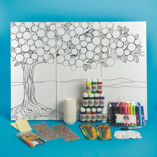 Buy Triptych Tree Collaborative Craft Kit at S&S Worldwide