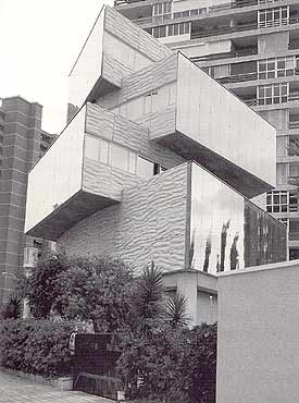 Miguel Fisac, what a crazy house