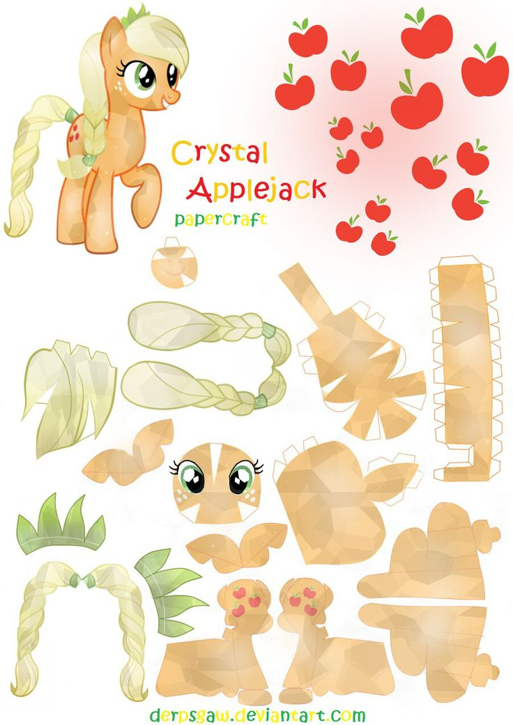 602 best papercrafts images on pinterest paper toys for My little pony craft ideas