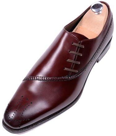 Burgundy Meermin Mallorca   Handmade Goodyear Shoes