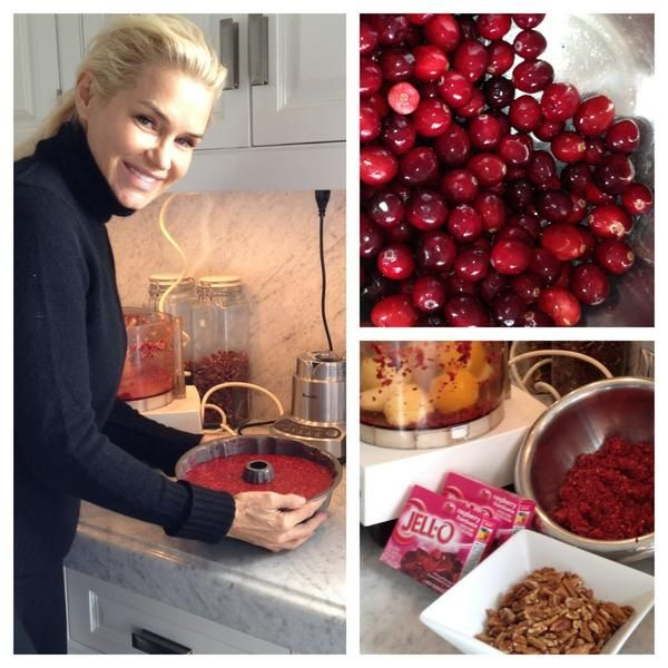 Yolanda's Christmas cooking. Real housewives of Beverly Hills. Bravo. Reality Tv.