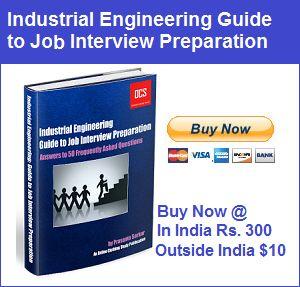 EBook 'Industrial Engineering Guide to Job Interview Preparation' is Released