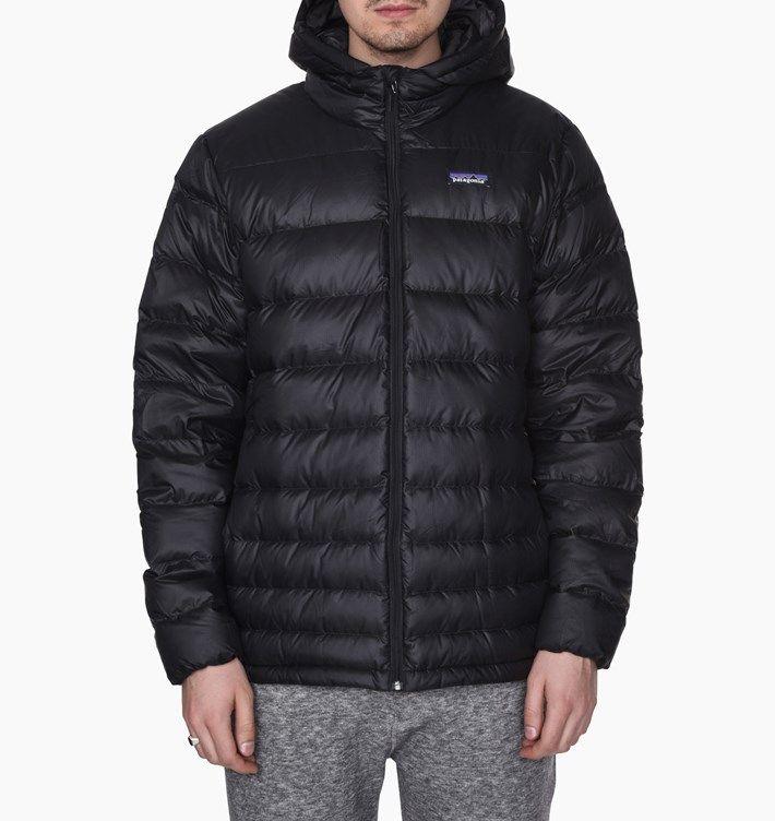 caliroots.com Hi-Loft Down Sweater Hoodie Patagonia 84902-BLK  257510