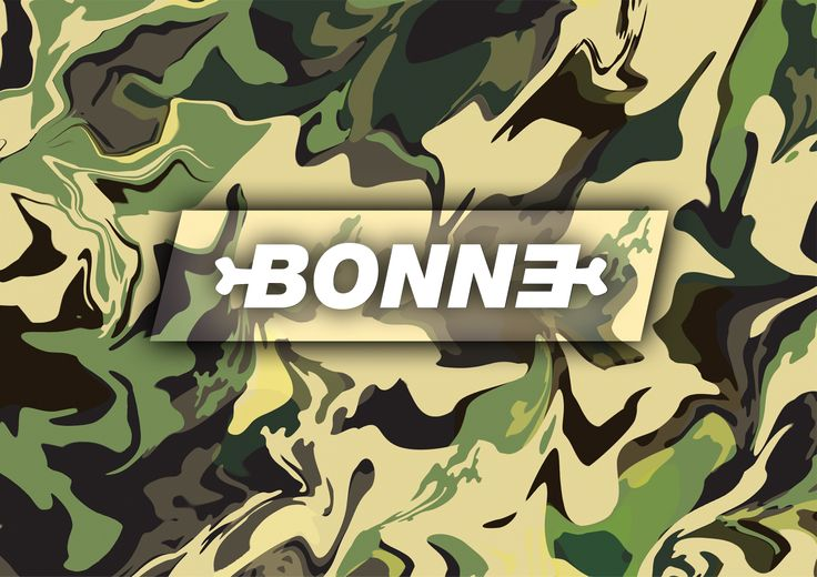 "#Bonne backpack, ""Army""stamp #Logo #backpacks #bags #bonnebags"