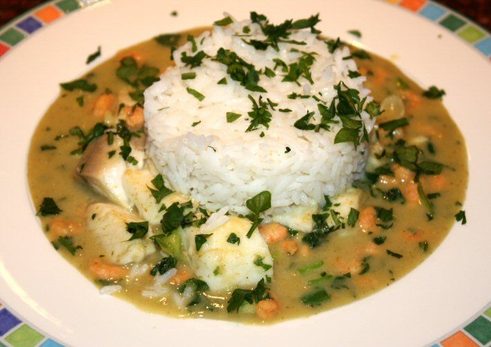 Tilapiafilet in Thaise saus