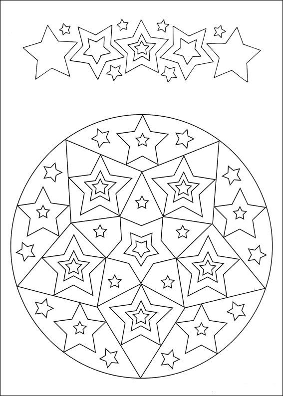 Mandalas Coloring Pages 76