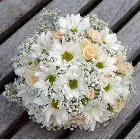 свадебные букеты из ромашек и роз - Поиск в Google