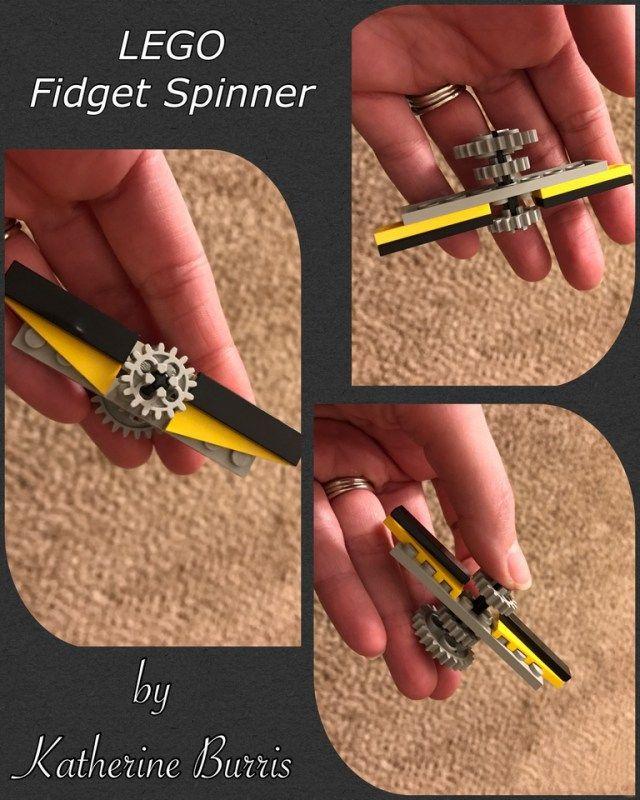 Lego Fid Spinner Noah s Lego Creations Pinterest