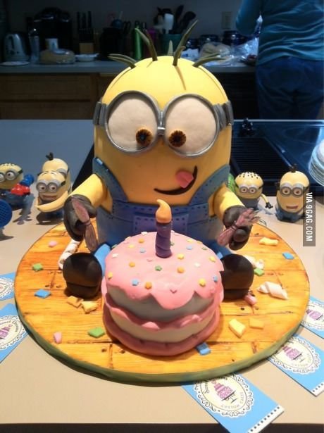 Cute birthday cake!