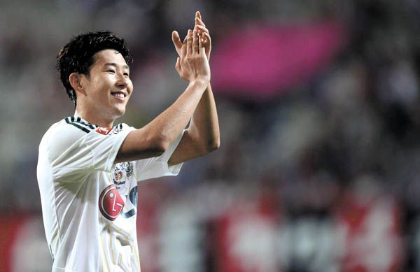 Son Heung-min looks set to sign for Tottenham Hotspur
