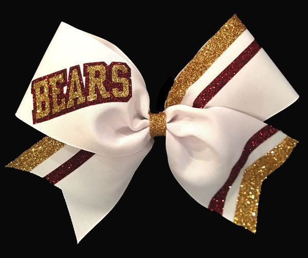 Calling all Varsity Cheerleaders. Take a look at our awesome varsity bow on Cheer Bows Etc.