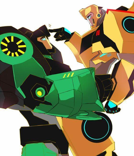 Imagenes de transformers - 30: Grimbee (round 2