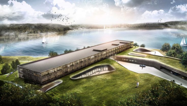 Gallery - GRAFT Begins Construction on Lakeside Hotel and Spa in Germany - 1