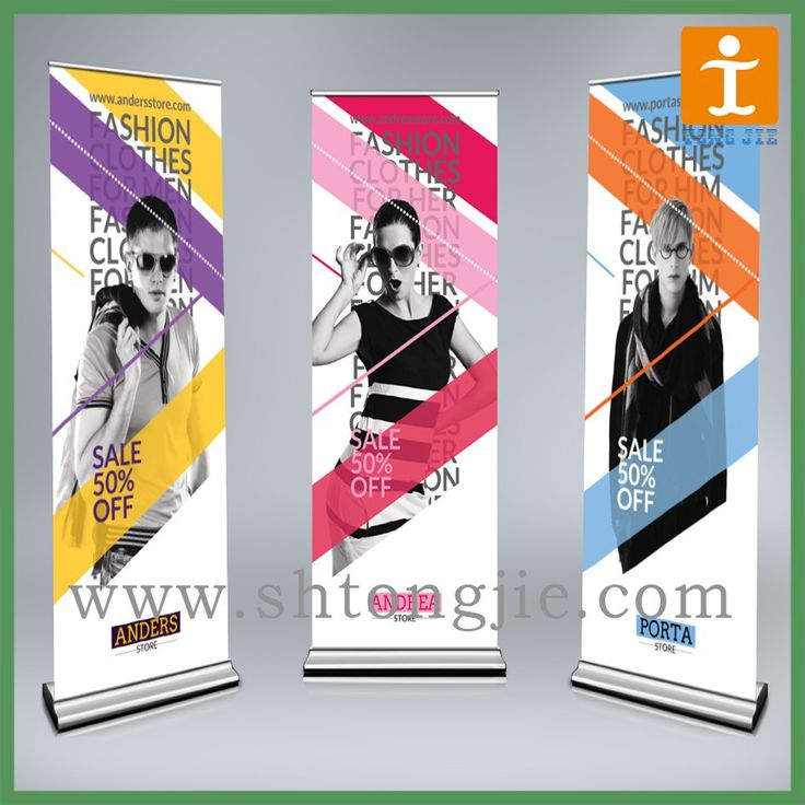 """Aluminum roll up banner,Retractable banner stand"""