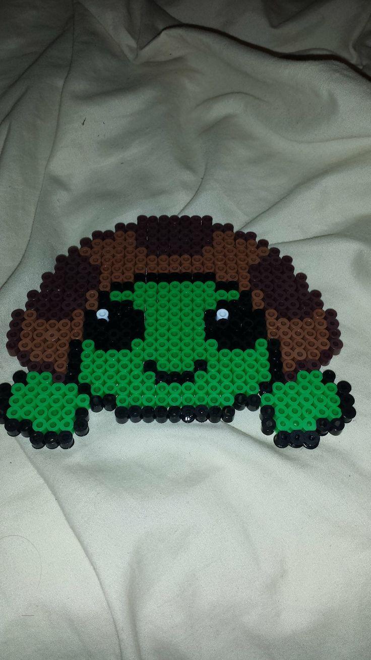 Turtle perler beads by dudedan2395 on deviantart