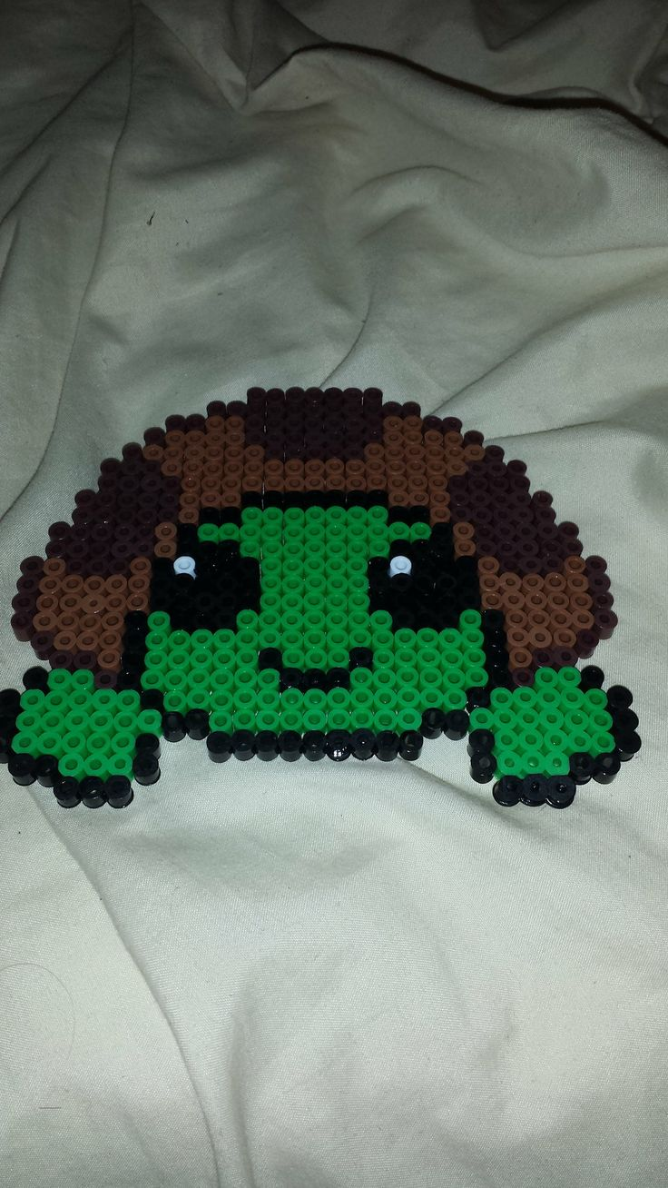 Turtle perler beads by dudedan2395 on deviantart